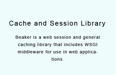 WSGI middleware for sessions and caching