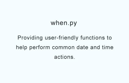 Providing user-friendly functions to help perform common date and time actions