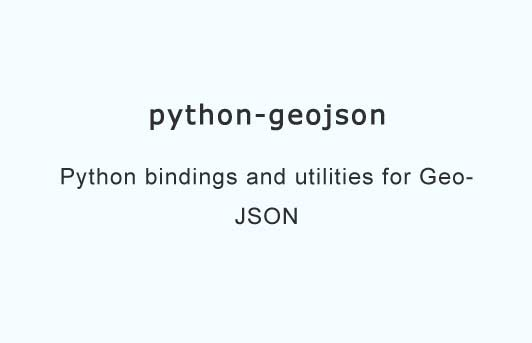Python bindings and utilities for GeoJSON