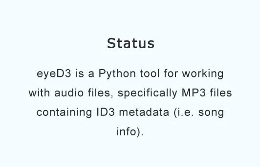 A tool for working with audio files specifically MP3 files