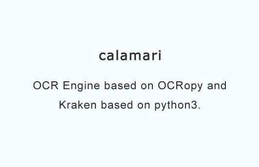 OCR Engine based on OCRopy and Kraken