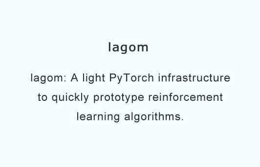 A light PyTorch infrastructure to quickly prototype reinforcement learning algorithms