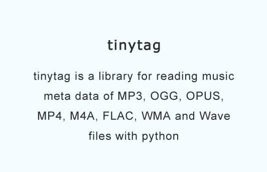 A library for reading music meta data of MP3, OGG, FLAC and Wave files
