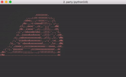 Bring the party to your terminal