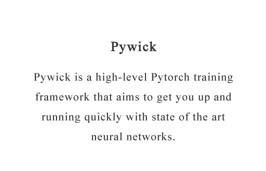 High-level batteries-included neural network training library for Pytorch