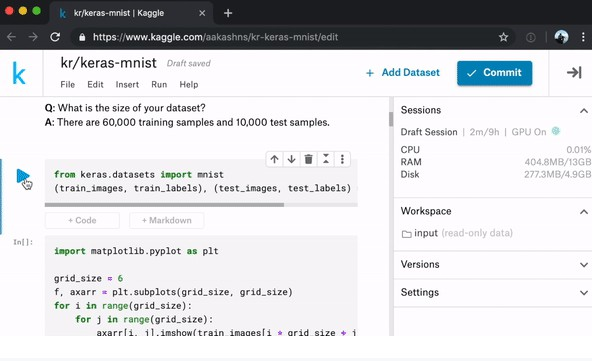 Run any Jupyter notebook instantly using Kaggle kernels