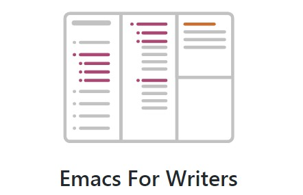 Emacs configuration for writers Focus on story development and structured writing