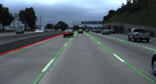 End-to-end Lane Detection for Self-Driving Cars
