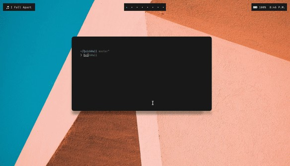 Set latest wallpapers from Unsplash from the commandline