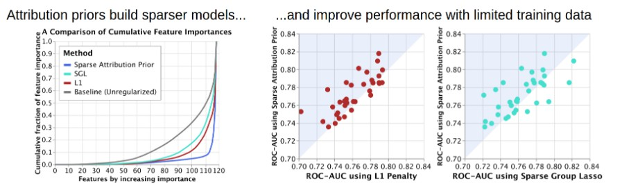 Tools for training explainable models using attribution priors