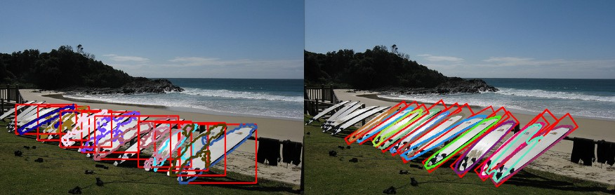 Rotated Mask R-CNN: From Bounding Boxes to Rotated Bounding Boxes