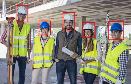 Safety helmet wearing detect dataset with pretrained model