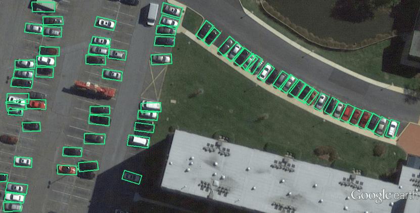 A implementation of rotation object detecion based on YOLOv3-quadrangle