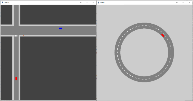 2D Driving Simulator with python