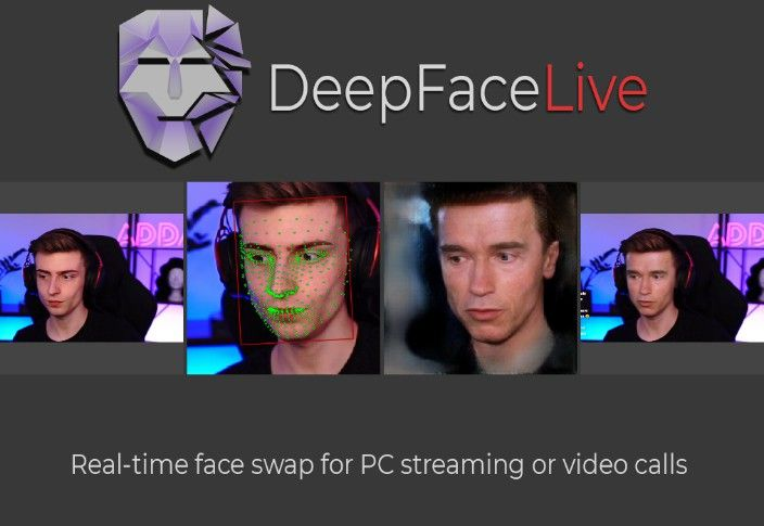 New Deepfake Tool Will Transform You in Real-time During Live Streaming